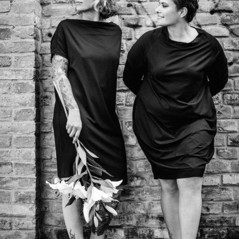 Plus Size Fashion made in Austria von stor> by gabriele wally. Die Kollektion ist zeitlos und minimalistisch.