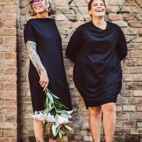 stor> by gabriele wally Kollektion erzeugt Mode für mehr Frau in Wien. Moderne Übergrößen Kollektion aus Wien.