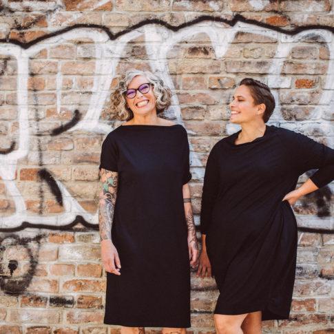 Wir verkaufen faire Mode in großen Größen, mitten in Wien produziert.