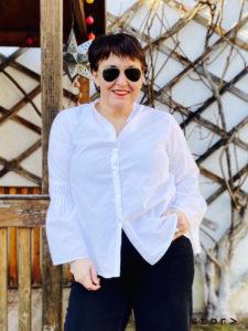 Modische Kleidung in Übergröße ist für Gabriele Wally aus Wien ganz selbstverständlich.