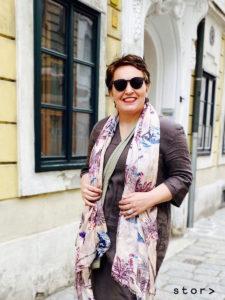 Plus Size Leinenkleid von stor> der Curvyfashion Store in Wien Josefstadt.