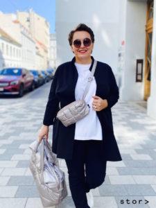 Stylishe Puffy Bags und Belt Bags von Tinne + Mia bei stor> in Wien.